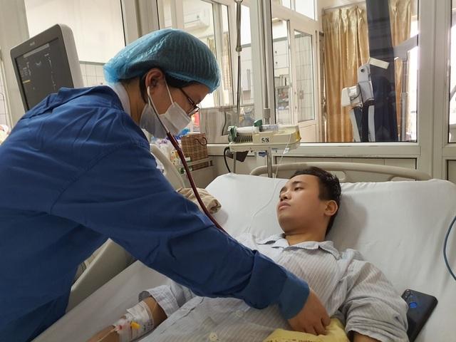 Chàng trai gặp biến chứng sau ghép tạng được bạn đọc giúp đỡ đã xuất viện - 3