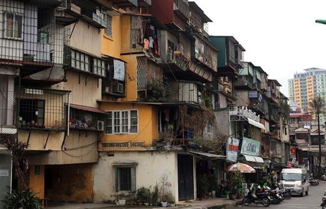 Cải tạo chung cư cũ Hà Nội: Đặc sản khó... nhằn - 1