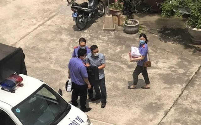 Khởi tố 3 cán bộ Công an quận Đồ Sơn - 1