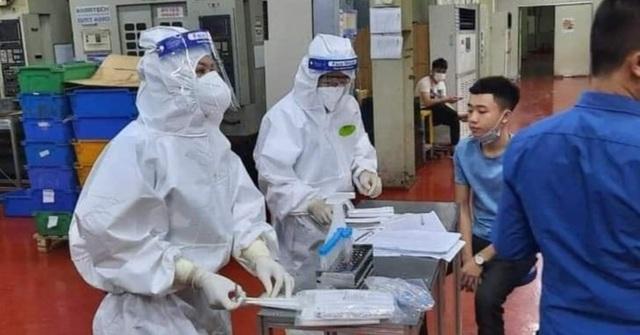 Bắc Giang sôi sục dập dịch, ổ dịch KCN Vân Trung thêm nhiều ca dương tính - 1