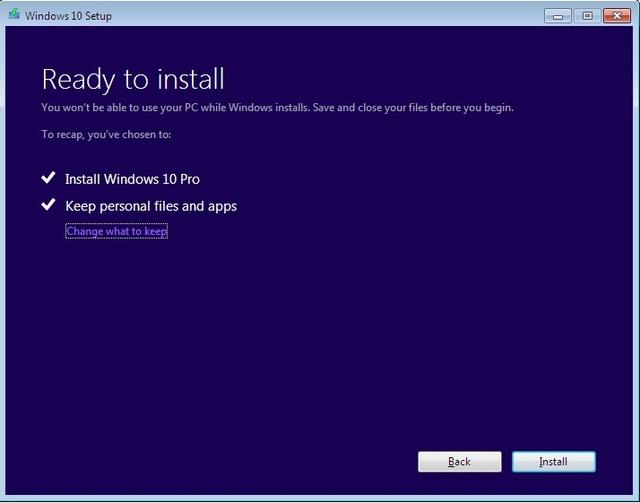 Hướng dẫn nâng cấp máy tính chạy Windows 7 lên 10 hoàn toàn miễn phí - 5