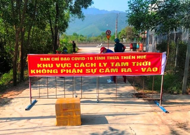 Thừa Thiên Huế cách ly thêm 1 thôn liên quan ca mắc Covid-19 thứ 4 - 1