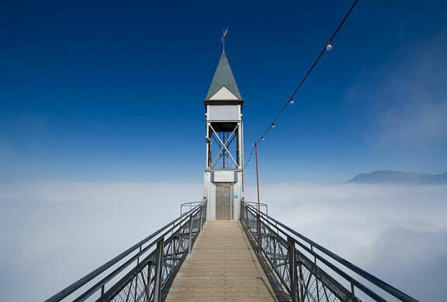Tim đập, chân run thử trải nghiệm đi thang máy lên thiên đường - 4