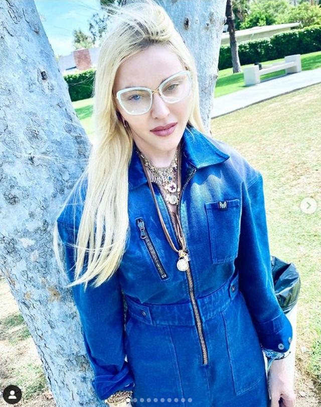 Madonna trẻ đẹp ngỡ ngàng ở tuổi 63 - 4
