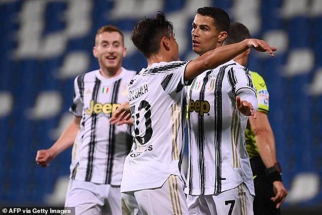 C.Ronaldo chạm cột mốc vĩ đại, Juventus giành chiến thắng quan trọng - 1