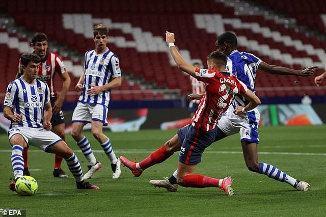 Giành 3 điểm quan trọng, Atletico rộng cửa vô địch La Liga - 1