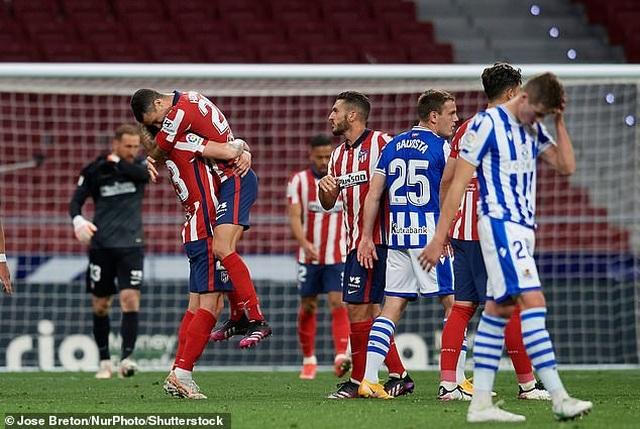 Giành 3 điểm quan trọng, Atletico rộng cửa vô địch La Liga - 8