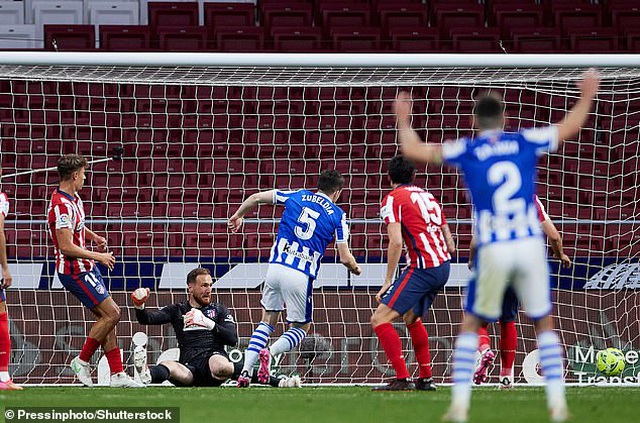 Giành 3 điểm quan trọng, Atletico rộng cửa vô địch La Liga - 5