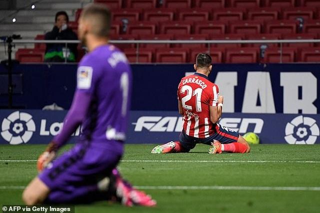 Giành 3 điểm quan trọng, Atletico rộng cửa vô địch La Liga - 2