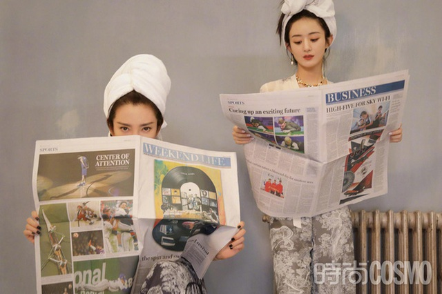 Lý Băng Băng trẻ đẹp không thua đàn em kém 15 tuổi Triệu Lệ Dĩnh - 7