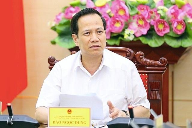 Bộ trưởng Đào Ngọc Dung: Không để lọt lao động nhập cảnh trái phép... - 1