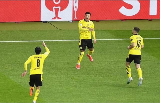 Sancho, Haaland tỏa sáng giúp Dortmund vô địch Cúp Quốc gia Đức - 3
