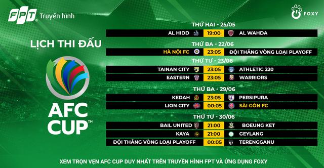 Hà Nội FC, Sài Gòn FC sẵn sàng chinh chiến AFC Cup 2021 - 4