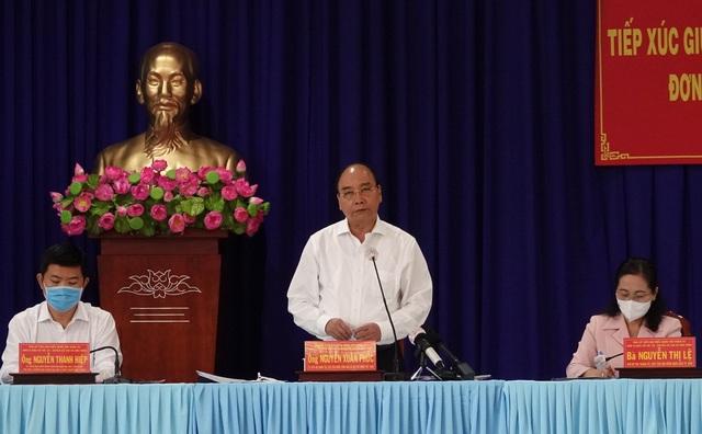 Chủ tịch nước Nguyễn Xuân Phúc bỏ phiếu bầu đại biểu Quốc hội tại Củ Chi - 1
