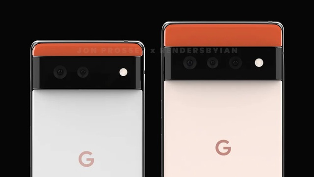 Lộ thiết kế lạ của bộ đôi smartphone Huawei P50 và Google Pixel 6 - 7