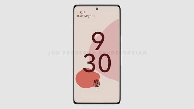 Lộ thiết kế lạ của bộ đôi smartphone Huawei P50 và Google Pixel 6 - 8