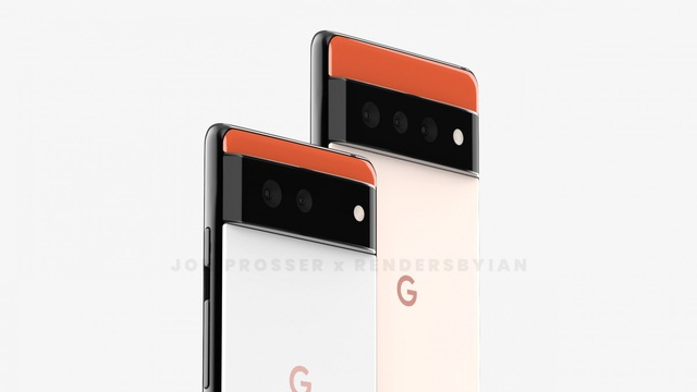Lộ thiết kế lạ của bộ đôi smartphone Huawei P50 và Google Pixel 6 - 6