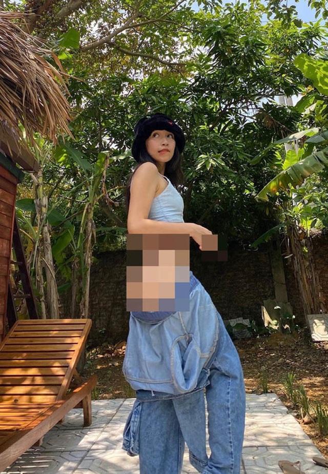 Con gái Diva Mỹ Linh xin lỗi vì bức ảnh khoe vòng ba bị chê phản cảm - 1
