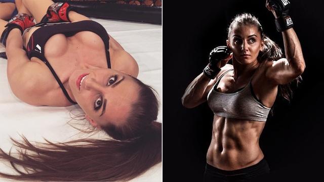 Điểm danh những nữ võ sĩ MMA xinh đẹp, gợi cảm nhất thế giới - 1