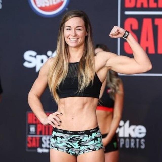 Điểm danh những nữ võ sĩ MMA xinh đẹp, gợi cảm nhất thế giới - 7
