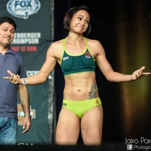 Điểm danh những nữ võ sĩ MMA xinh đẹp, gợi cảm nhất thế giới - 8