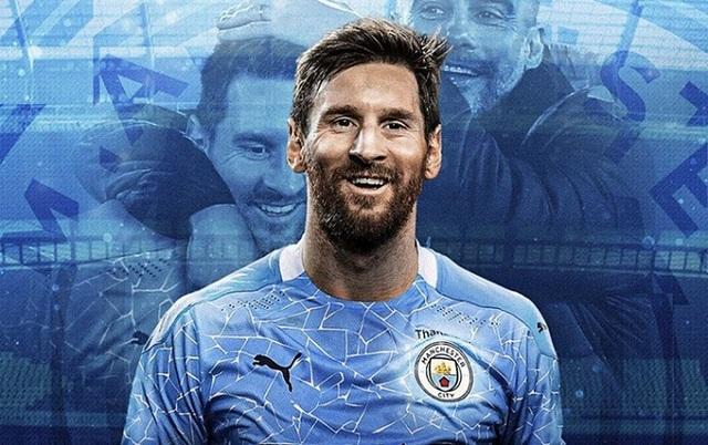 Lật kèo Barcelona, Messi sẽ hưởng lương siêu khủng ở Man City? - 1