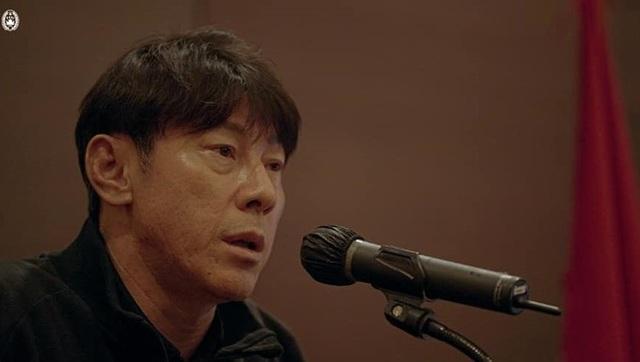HLV Shin Tae Yong: Cầu thủ Indonesia không thua kém Hàn Quốc - 1