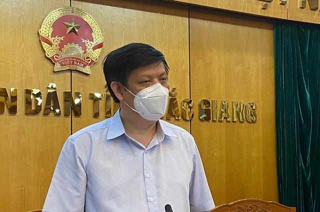 Bộ trưởng Y tế: Lực lượng nòng cốt sẽ bám trụ Bắc Giang - 1