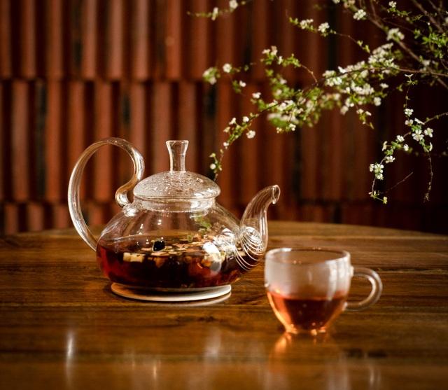 Độc đáo trà được làm từ vỏ quả cà phê - 1