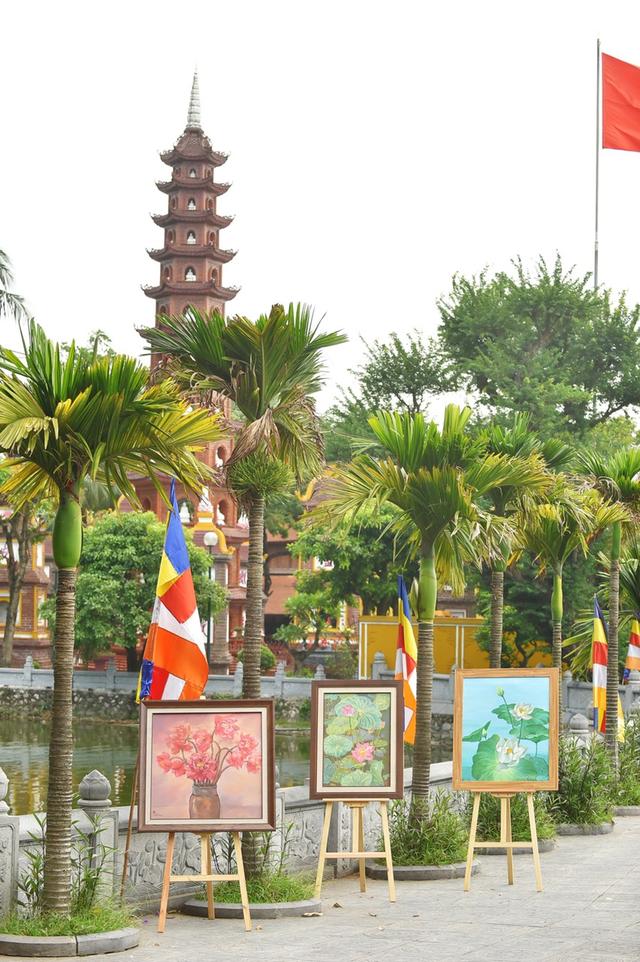 Mạng xã hội Phật giáo Butta tặng 108 bức tranh nhân lễ Phật đản - 2