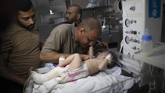 Trẻ em Gaza hoảng loạn giữa địa ngục chiến tranh - 4