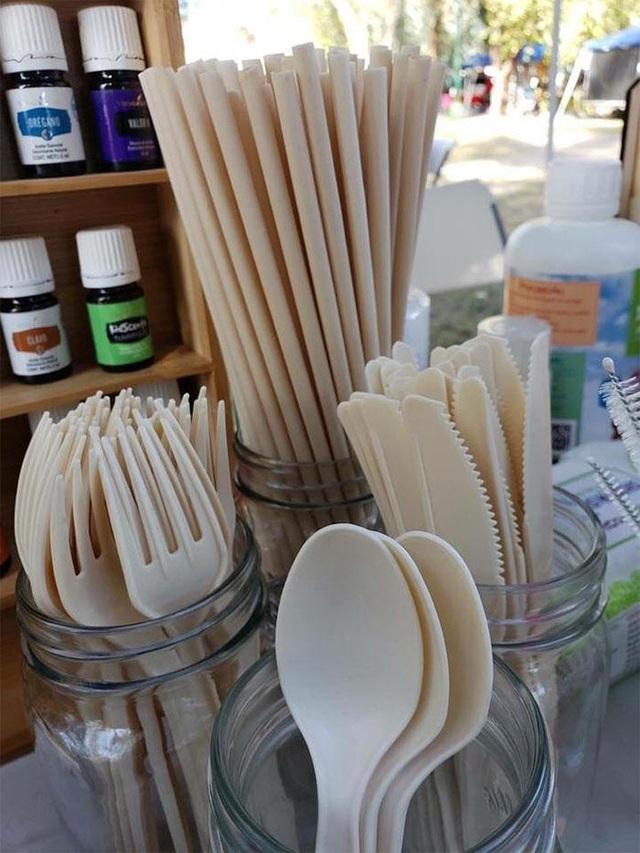 Bất ngờ sản phẩm thìa, ống hút làm từ hạt bơ thân thiện với môi trường - 3