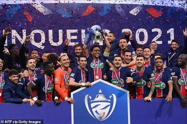 Mbappe tỏa sáng rực rỡ giúp PSG vô địch Cúp Quốc gia Pháp - 4