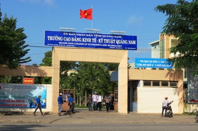Trường Cao đẳng Quảng Nam có hiệu trưởng mới - 2