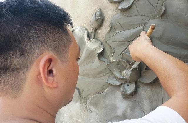 Kiếm vài chục triệu đồng mỗi tháng từ nghề vẽ tranh tường - 3