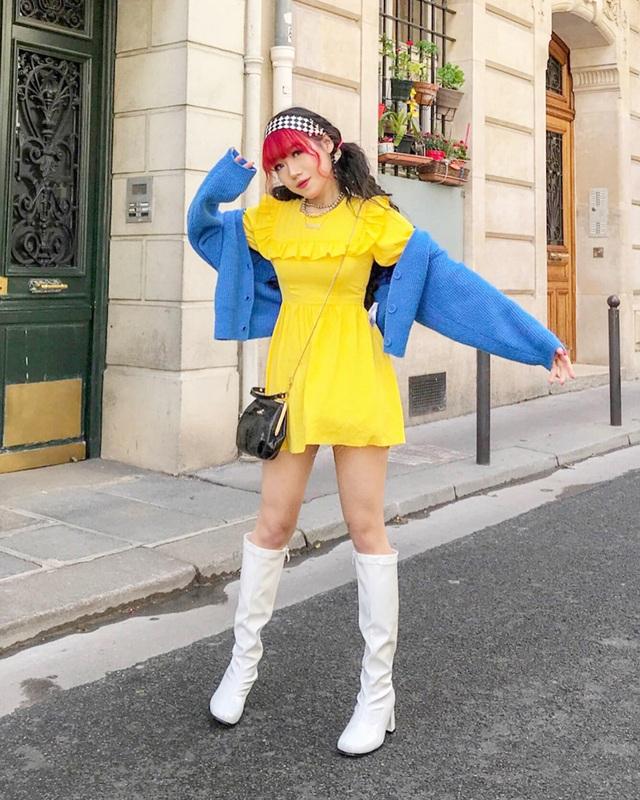 Nữ du học sinh Việt tại Anh quốc gây sốt với gu thời trang cá tính - 11