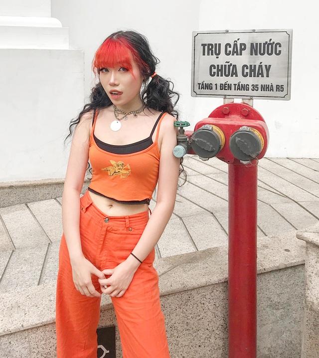Nữ du học sinh Việt tại Anh quốc gây sốt với gu thời trang cá tính - 2