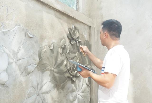 Kiếm vài chục triệu đồng mỗi tháng từ nghề vẽ tranh tường - 1