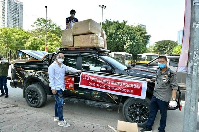Ca sĩ Tùng Dương trao 460 triệu đồng ủng hộ Bắc Ninh, Bắc Giang - 3