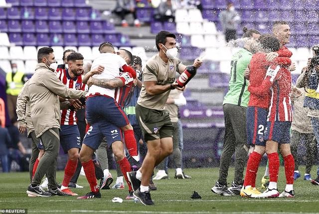 Atletico lên ngôi vô địch La Liga, Real Madrid cay đắng về nhì - 10