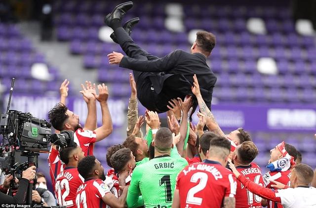 Atletico lên ngôi vô địch La Liga, Real Madrid cay đắng về nhì - 9