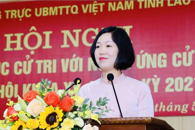 Nữ tiến sĩ xuất sắc, tận tụy với nghề của Trường Cao đẳng Lào Cai - 1