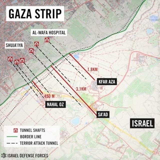 Những điều ít biết về địa đạo bí ẩn của lực lượng Hamas ở Dải Gaza - 2