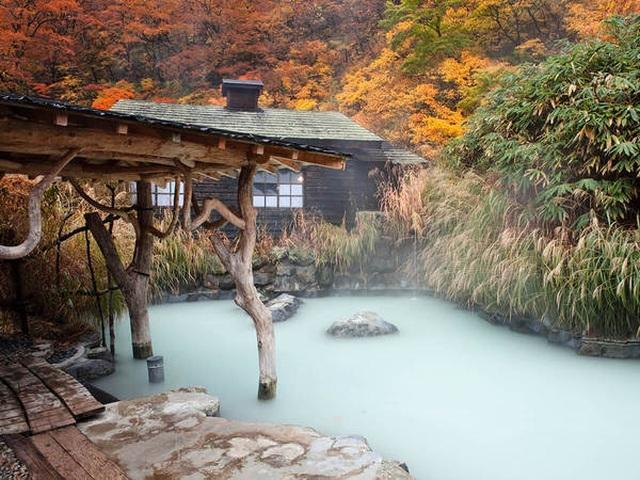 Bát đại ryokan onsen của núi Nyuto - 2