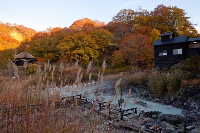 Bát đại ryokan onsen của núi Nyuto - 4