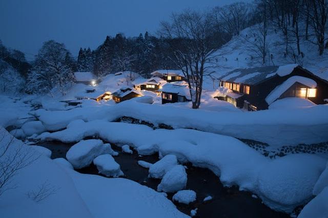 Bát đại ryokan onsen của núi Nyuto - 8