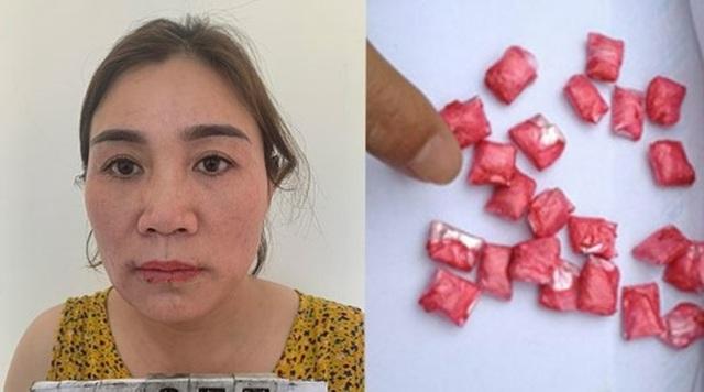 Xổ ruột nữ quái, thu được gần 50 viên ma túy tổng hợp - 1