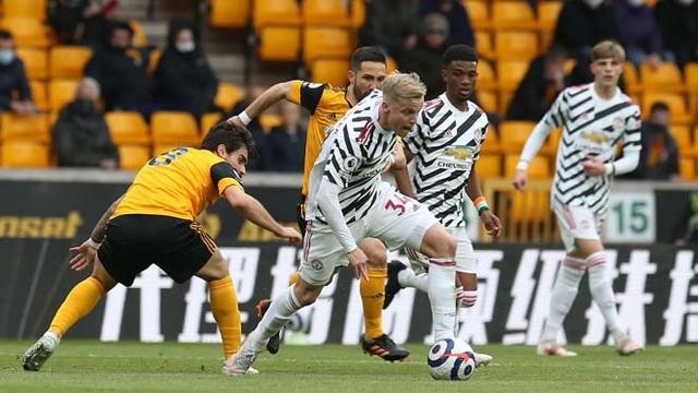 Đội hình dự bị của Man Utd dễ dàng đánh bại Wolves ở vòng đấu cuối - 1