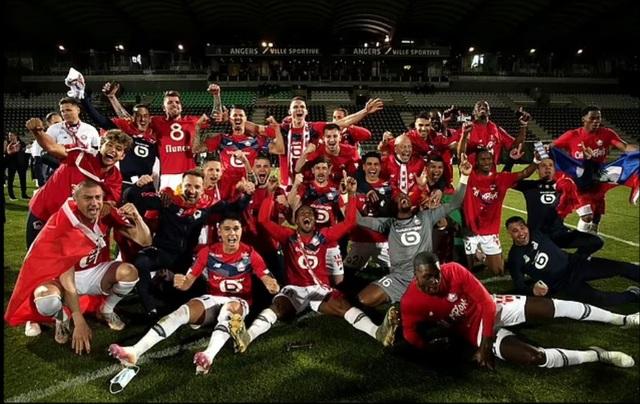 PSG ngậm ngùi nhìn Lille đăng quang chức vô địch Ligue 1 - 4