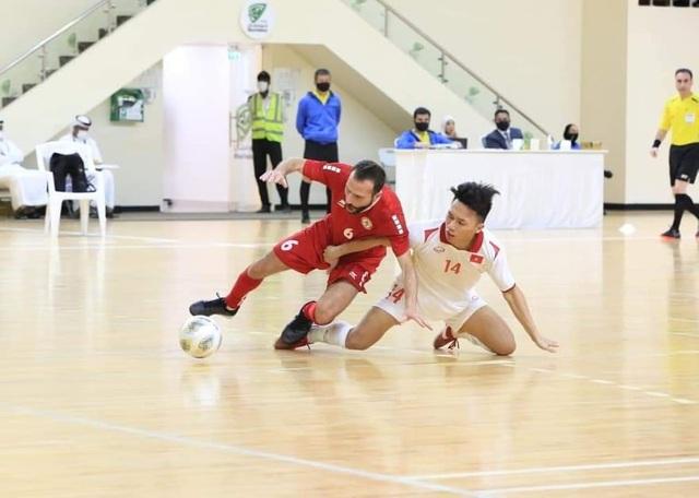 Hòa Lebanon, đội tuyển futsal Việt Nam giành vé dự World Cup - 2